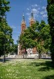 Kathedraalbasiliek van de Veronderstelling van Heilige Maagdelijke Mary Bialystok Royalty-vrije Stock Foto's