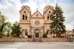 Kathedraalbasiliek van St Francis van Assisi, Kathedraalplaats, Sa Royalty-vrije Stock Fotografie