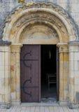 Kathedraaldeur Royalty-vrije Stock Foto