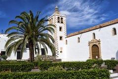 Kathedraalkerk Betancuria Fuerteventura Stock Afbeelding
