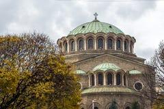 Kathedraalkerk St Nedelya in Sofia, Bulgarije Stock Fotografie