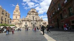 Kathedraalkerk van Heilige Maria stock videobeelden
