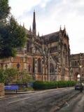 Kathedraalkerk van Onze Dame en St Philip Howard of enkel Arundel-Kathedraal stock foto
