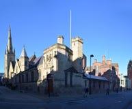 Kathedraalkerk van St Marie, Sheffield, het UK stock afbeeldingen