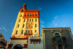 24 kathedraalplaats in St Augustine, Florida Stock Afbeelding