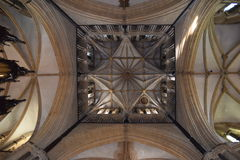 Kathedraalplafond Stock Foto's