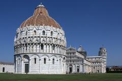 Kathedraalvierkant - Pisa - Italië Stock Foto's