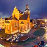 Kathedraalvierkant in Riga, Letland Stock Foto