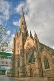 Kathedral en Birmingham Imagen de archivo libre de regalías