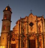 Kathedrale am Abend Lizenzfreies Stockfoto