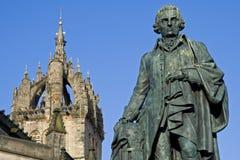 Kathedrale Adam-Smith, des Denkmales und Str. Giles Lizenzfreie Stockfotografie