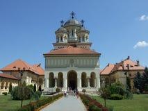 Kathedrale alba-Iulia stockfoto