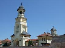 Kathedrale alba-Iulia lizenzfreies stockfoto