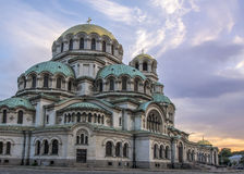 Kathedrale Alexanders Nevsky, Sofia, Bulgarien Stockbild