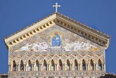 Kathedrale in Amalfi Lizenzfreies Stockfoto