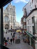 Kathedrale in Antwerpen stockfotos