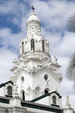 Kathedrale auf Piazza großer Quito Ecuador Stockbilder