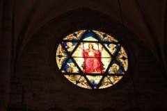 Kathedrale, Basel stockbild