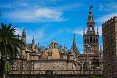 Kathedrale bei Sevilla Stockfotografie