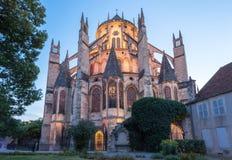 Kathedrale Bourges Frankreich lizenzfreies stockbild
