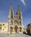 Kathedrale in Burgos, Spanien Lizenzfreies Stockfoto