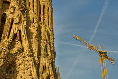 Kathedrale Cagrada Familia Lizenzfreie Stockbilder