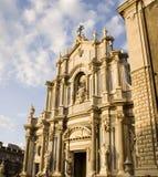 Kathedrale, Catania Lizenzfreies Stockbild