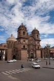 Kathedrale in Cusco, Perú Stockfotografie