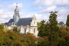 Kathedrale in den bois, Frankreich Lizenzfreie Stockfotografie