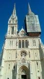 Kathedrale der Annahme von gesegneten Jungfrau Maria und Überziehschutzanlage Stephen und Ladislav Stockfoto