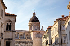 Kathedrale der Annahme von Jungfrau Maria. Stockbild