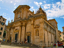 Kathedrale der Annahme von Jungfrau Maria Lizenzfreie Stockfotografie