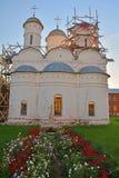 Kathedrale der Bestimmung von wird von der Mutter des Gottes in Rizopolozhensky-Kloster in Suzdal, Russland fertig Stockfoto