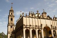 Kathedrale der Heiligen Dreifaltigkeit, Addis Ababa, Äthiopien Stockfotos