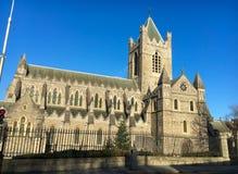 Kathedrale der Heiligen Dreifaltigkeit, allgemein bekannt als Christus-Kirche in Irland Lizenzfreies Stockfoto