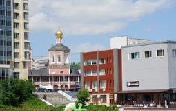 Kathedrale der Heiligen Dreifaltigkeit, Saratow stockfotografie
