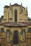 Kathedrale der heiligen sacerdos, sarlat La caneda lizenzfreie stockfotografie