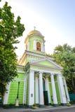 Kathedrale der Heiliger Dreifaltigkeit, Odessa, Ukraine Hölzerne Kirche umgebaut als der Steintempel im Jahre 1804 Stockbild