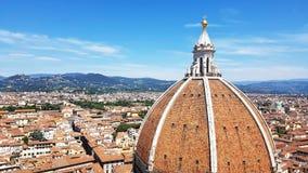 Kathedrale der Heiliger Maria der Blume in Florenz, Italien stockbild