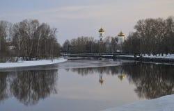 Kathedrale der Offenbarung in Vishny Volochyok lizenzfreie stockfotografie
