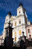 Kathedrale der Transfiguration des Lords, Kremenets, Ukraine Stockbild