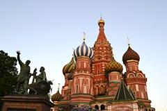 Kathedrale des Basilikums Stockfotos
