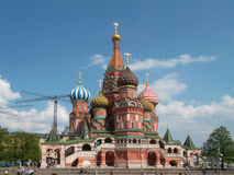 Kathedrale des Basilikums Vasiliy Blajenniy Sobor Lizenzfreie Stockfotos
