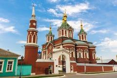 Kathedrale des Exaltation des heiligen Kreuzes Lizenzfreie Stockfotografie