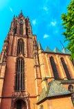 Kathedrale des Frankfurten Würstchens, Deutschland Stockbilder