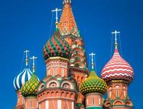 Kathedrale des Heilig-Basilikums Stockfotos