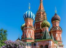Kathedrale des Heilig-Basilikums Lizenzfreies Stockbild