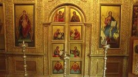 Kathedrale des Heilig-Basilikums, Moskau, russische Bundesstadt, Russische Föderation, Russland stock video