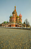 Kathedrale des Heilig-Basilikums, Russland lizenzfreies stockbild