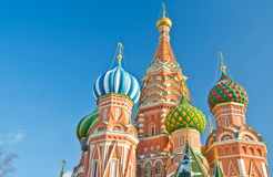 Kathedrale des Heilig-Basilikums, Russland lizenzfreies stockfoto